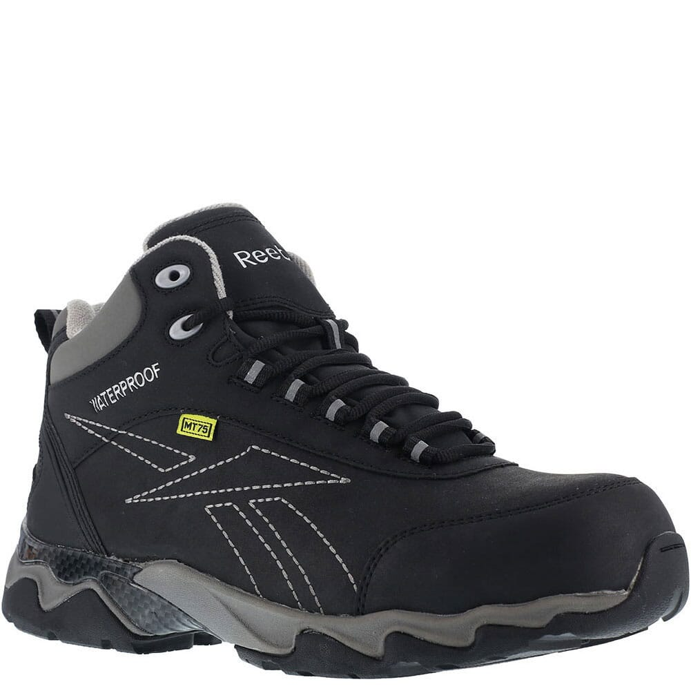 Image for Reebok Women's EH WP Met Safety Boots - Black/Grey from elliottsboots