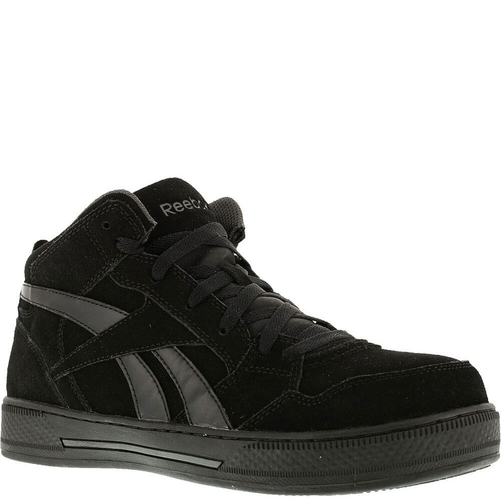Image for Reebok Men's Skateboard Hi Top Safety Boots - Black from bootbay