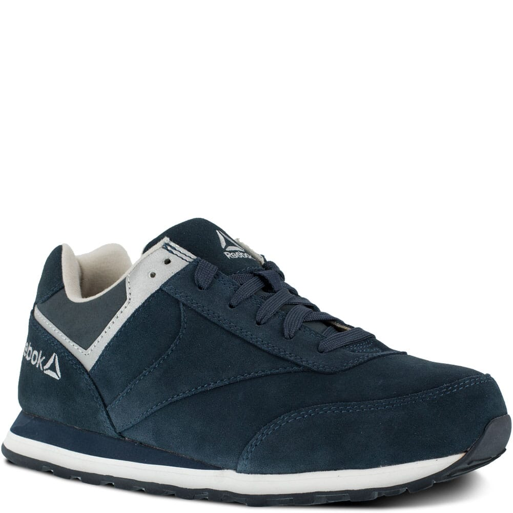 Image for Reebok Women's Leelap Retro Jogger Safety Shoes - Navy Blue from elliottsboots