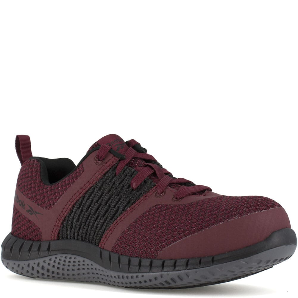 Image for Reebok Women's Print ULTK Safety Shoes - Burgundy/Black from elliottsboots