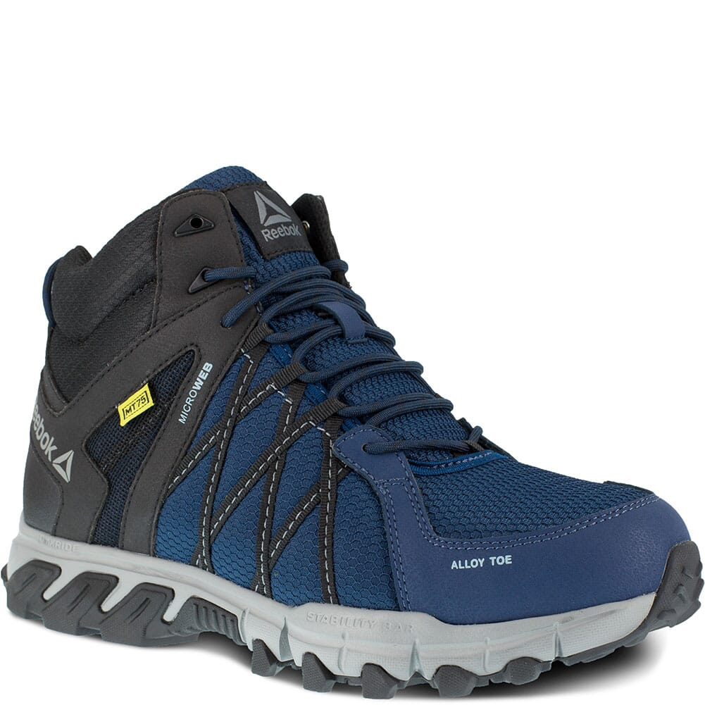 Image for Reebok Men's Trail Grip Safety Boots - Navy/Black from bootbay