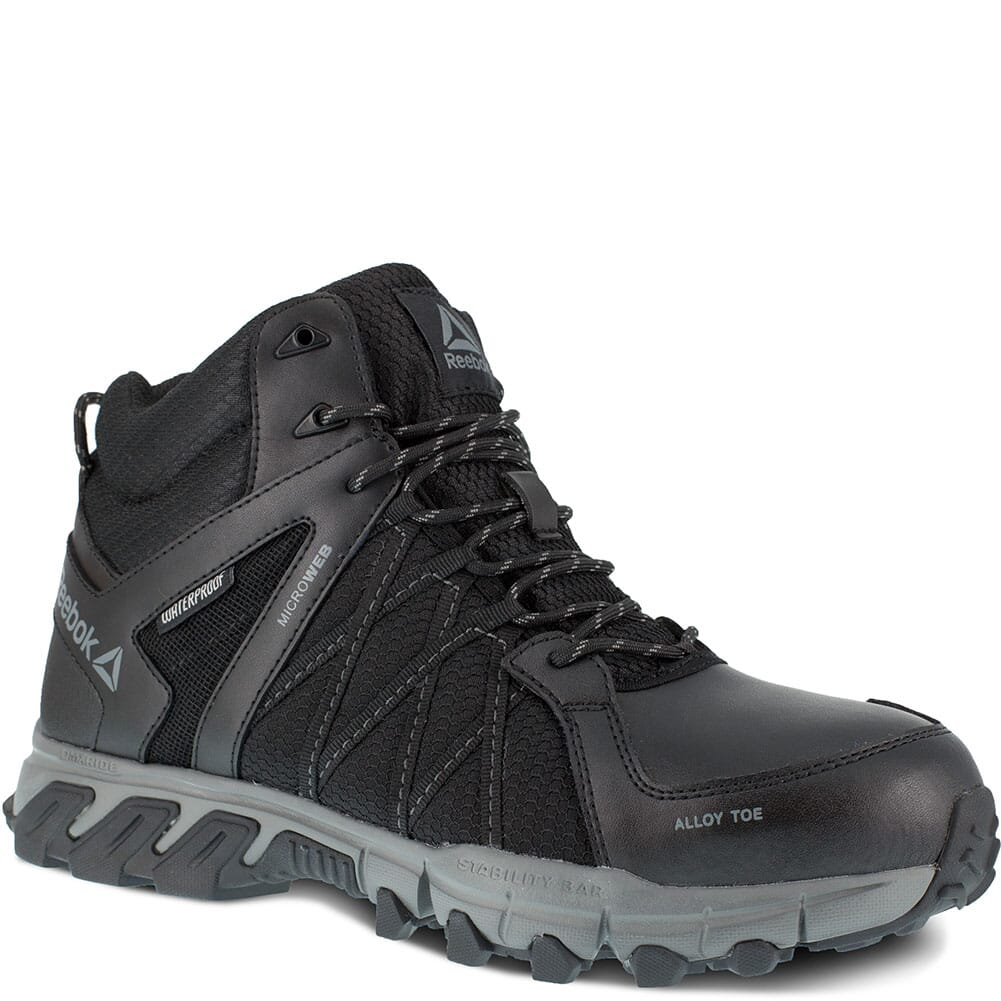 Image for Reebok Men's Trailgrip Safety Boots - Black/Gray from bootbay