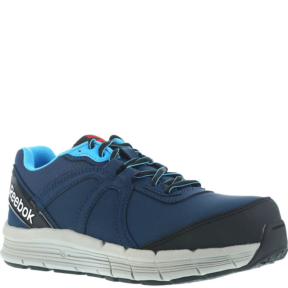 Image for Reebok Women's Cross Trainer Safety Shoes - Navy/Light Blue from bootbay