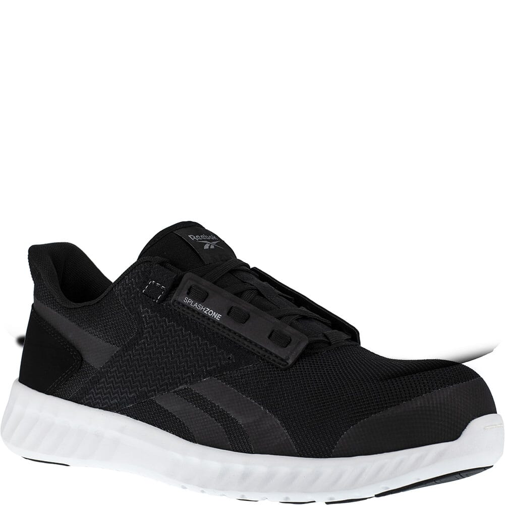 Image for Reebok Men's Sublite Legend EH Safety Shoes - Black/White from bootbay