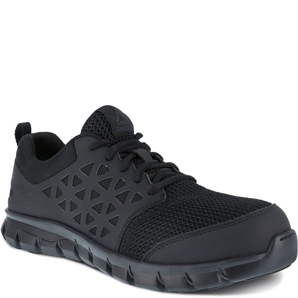 Image for Reebok Men's Sublite SD Safety Shoes - Black from bootbay