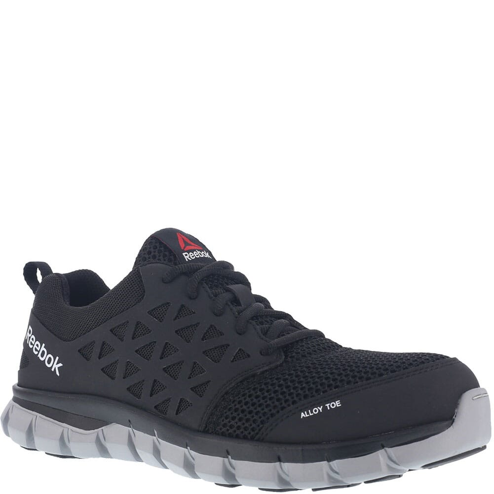 Image for Reebok Men's Sublite Safety Shoes - Black from bootbay