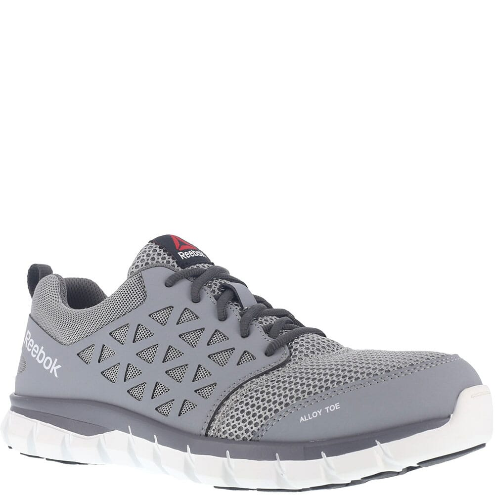 Image for Reebok Men's Sublite Safety Shoes - Grey from bootbay