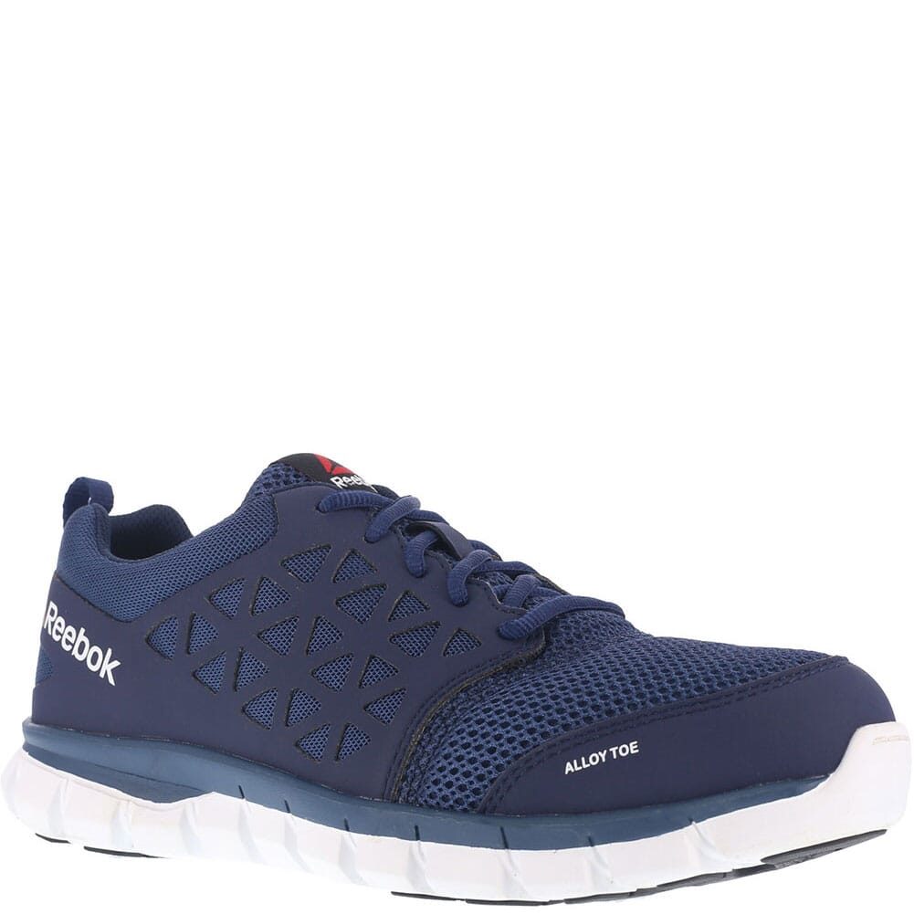 Image for Reebok Men's Sublite Safety Shoes - Navy from bootbay