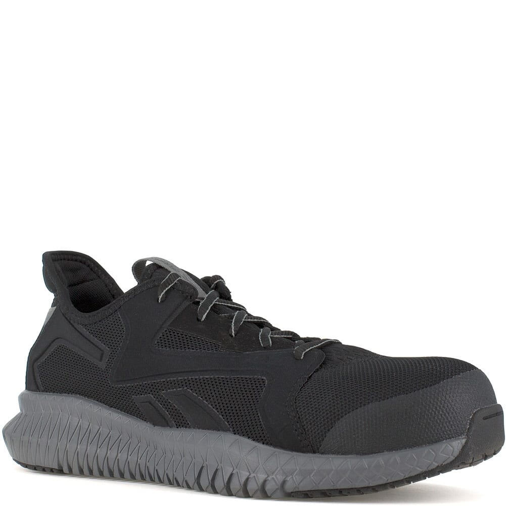 Image for Reebok Men's Flexagon 3.0 Safety Shoes - Black/Grey from bootbay