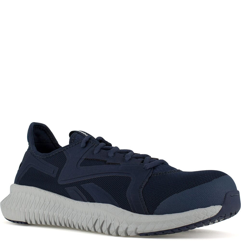Image for Reebok Men's Flexagon 3.0 Safety Shoes - Navy/Grey from bootbay