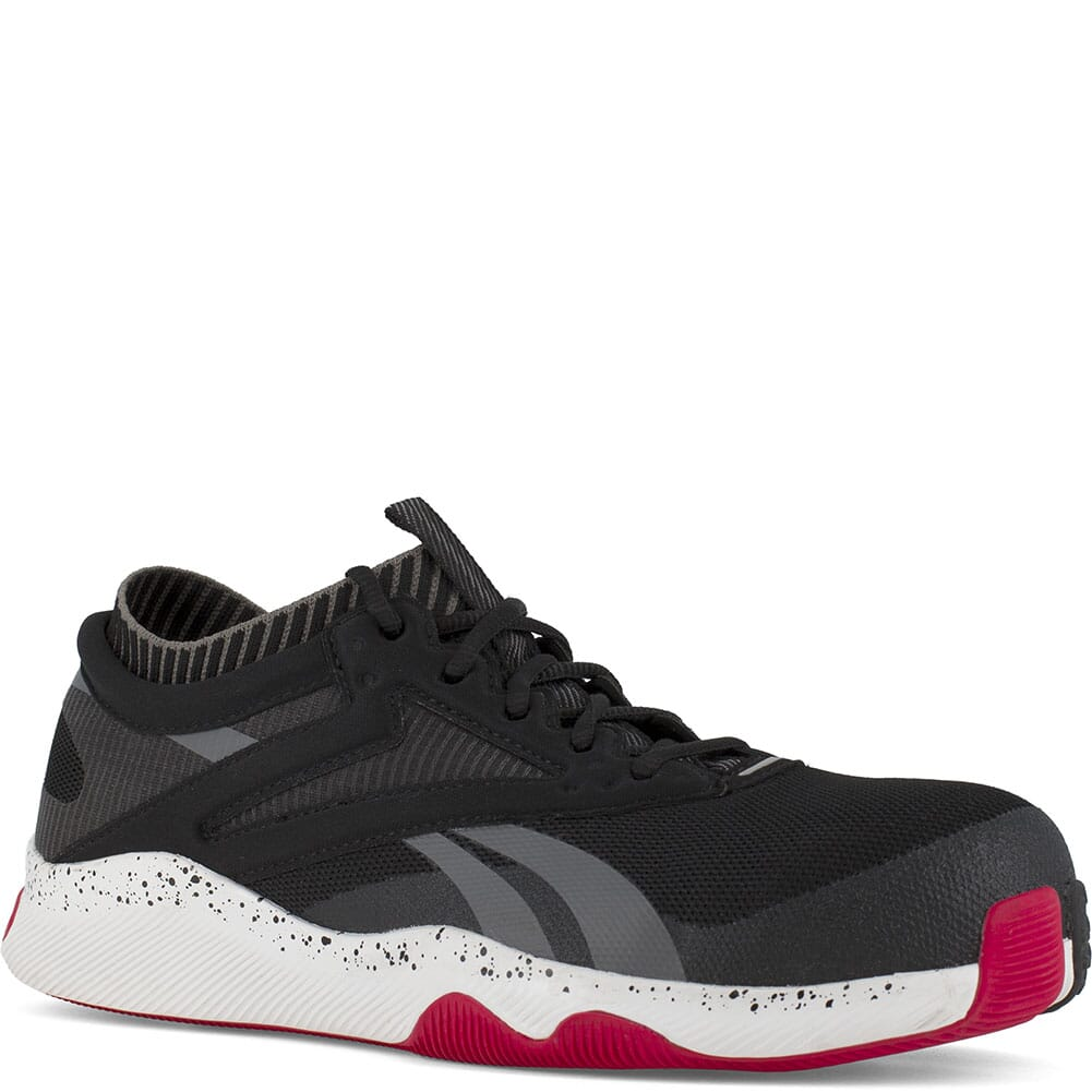 Image for Reebok Men's HIIT TR Safety Shoes - Black/Red from bootbay