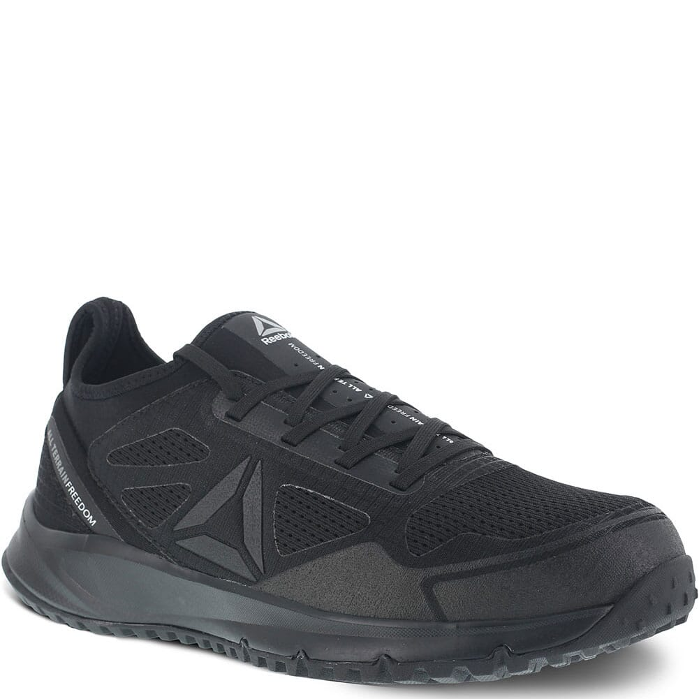 Image for Reebok Men's All Terrain Safety Shoes - Black from bootbay