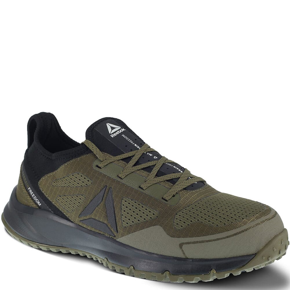 Image for Reebok Men's All Terrain Safety Shoes - Sage/Black from bootbay