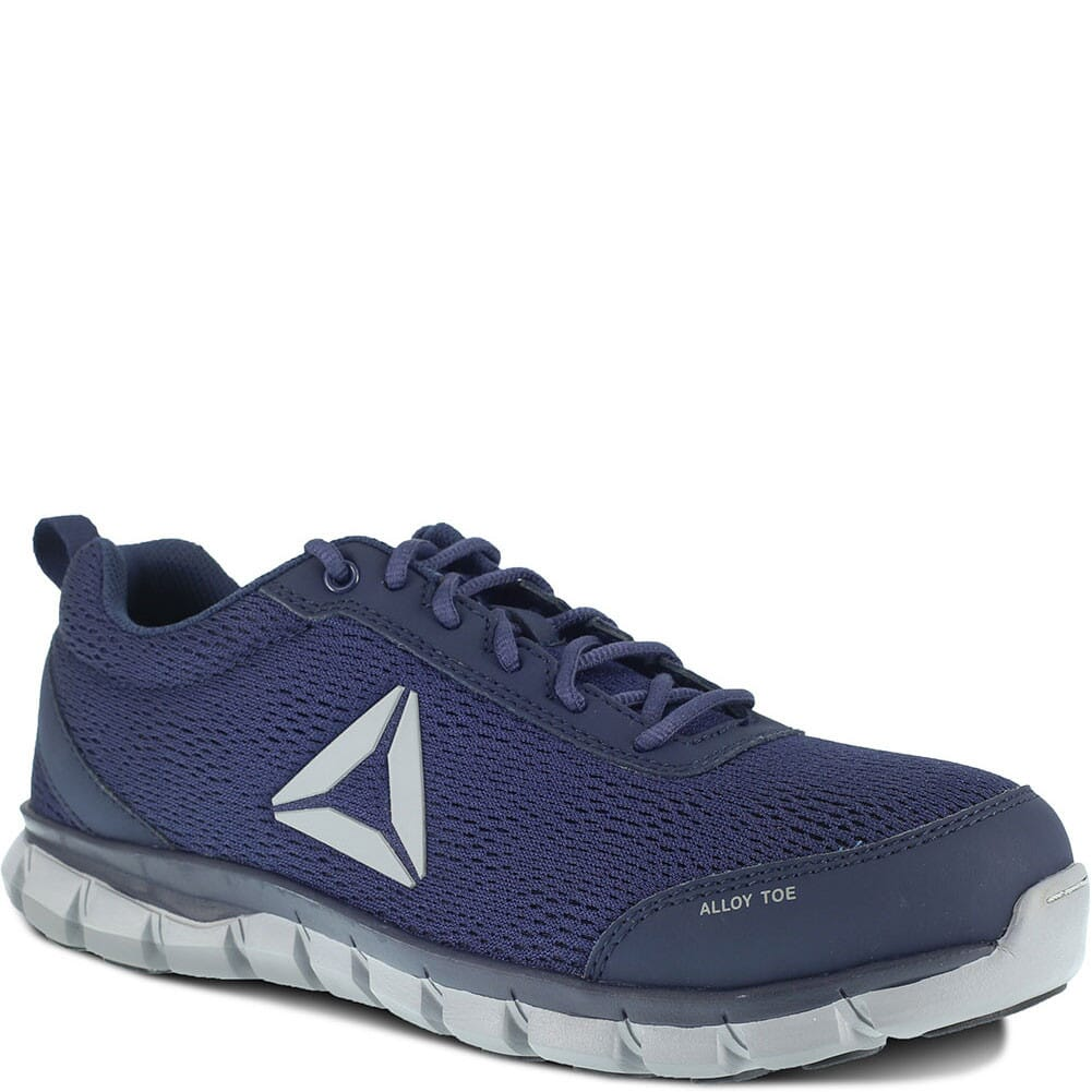 Image for Reebok Men's Sublite SD Safety Shoes - Navy/Grey from bootbay
