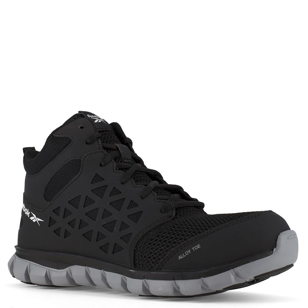 Image for Reebok Women's Sublite Cushion SR SD Safety Shoes - Black from bootbay