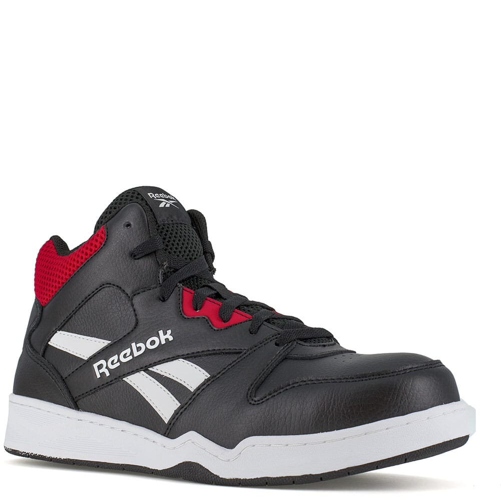 Image for Reebok Men's BB4500 EH Hi Cut Safety Boots - Black/Red from bootbay