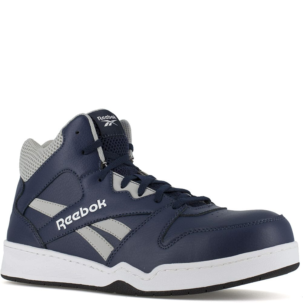 Image for Reebok Men's BB4500 SD Hi Cut Safety Boots - Navy/Grey from bootbay