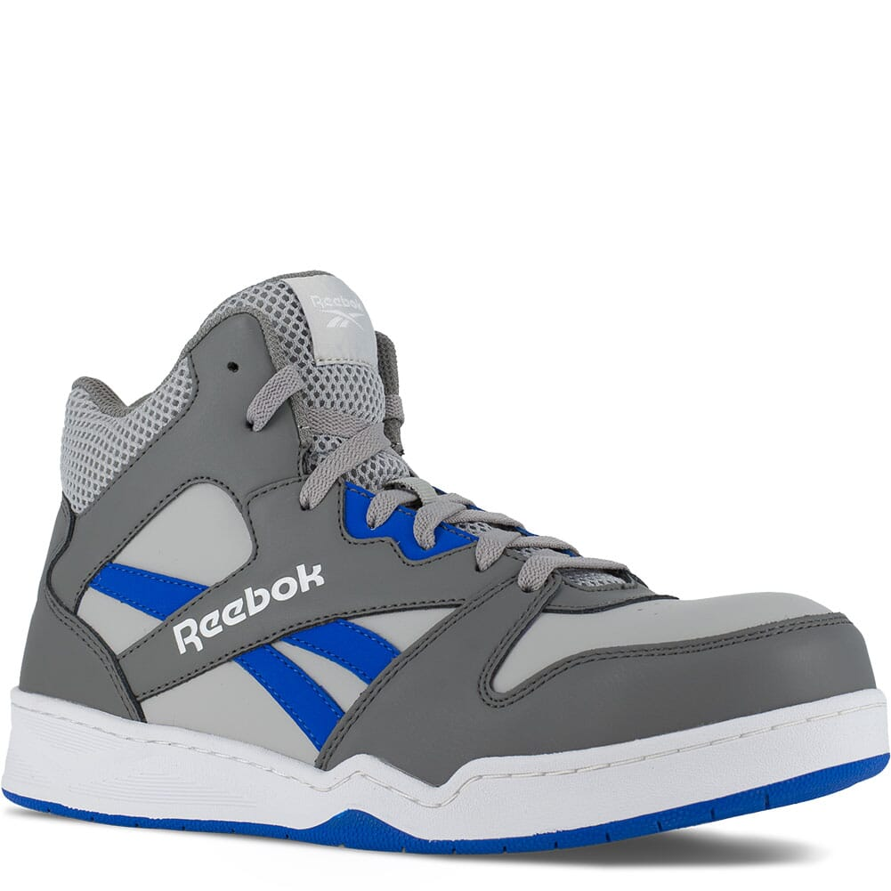 Image for Reebok Men's BB4500 SD Hi Cut Safety Boots - Grey/Cobalt Blue from bootbay