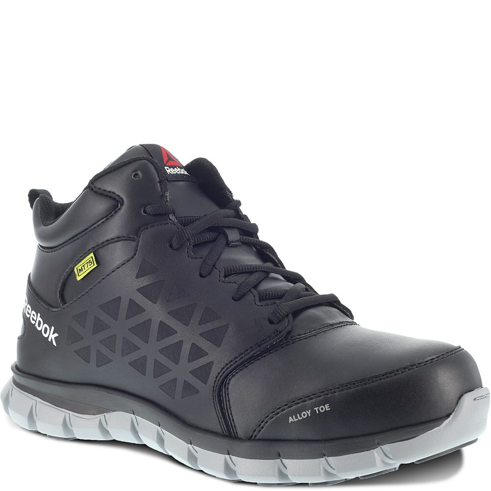 Image for Reebok Men's Sublite Met Guard Safety Shoes - Black from bootbay