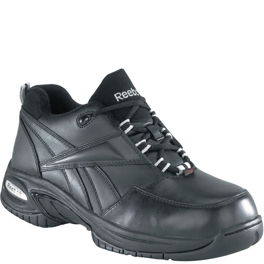 Image for Reebok Men's Tyak Safety Shoes - Black from bootbay