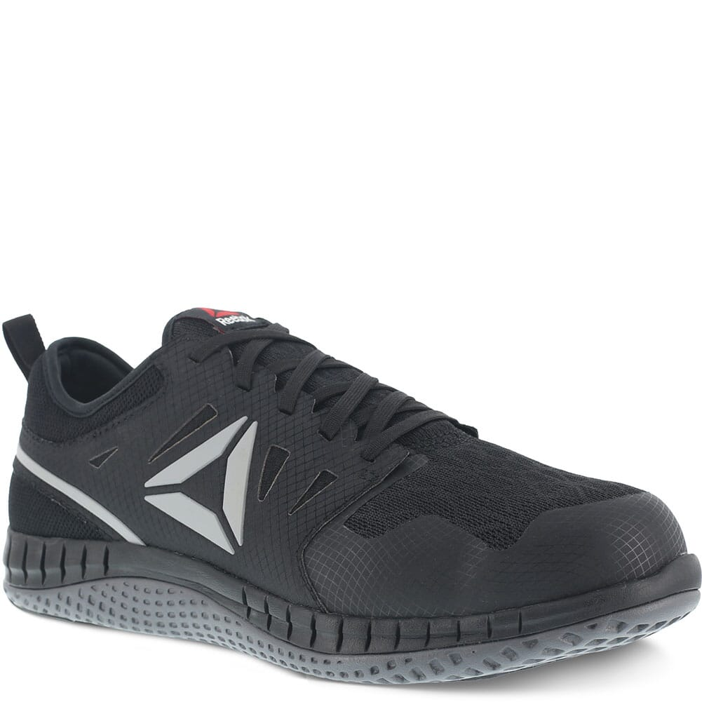 Image for Reebok Men's ZPRINT SD Safety Shoes - Black/Dark Grey from bootbay