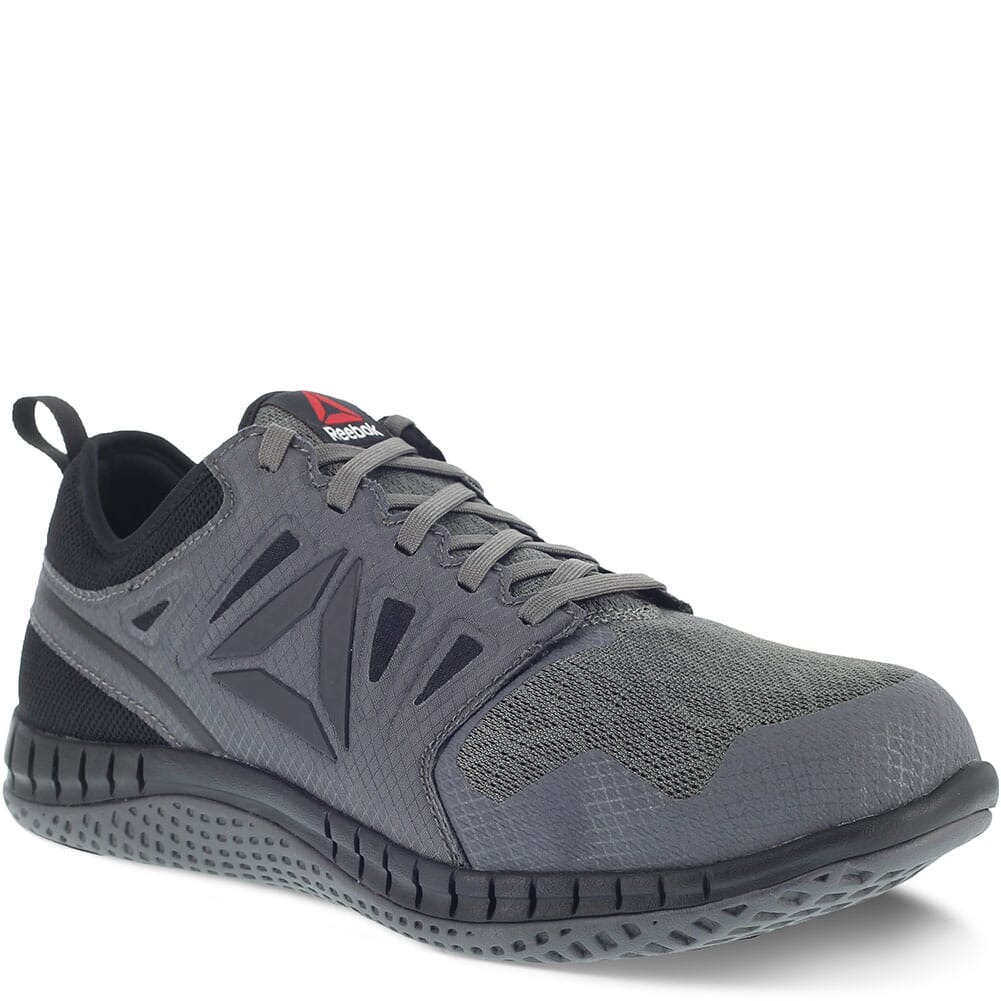 Image for Reebok Men's ZPrint Safety Shoes - Black/Dark Grey from bootbay