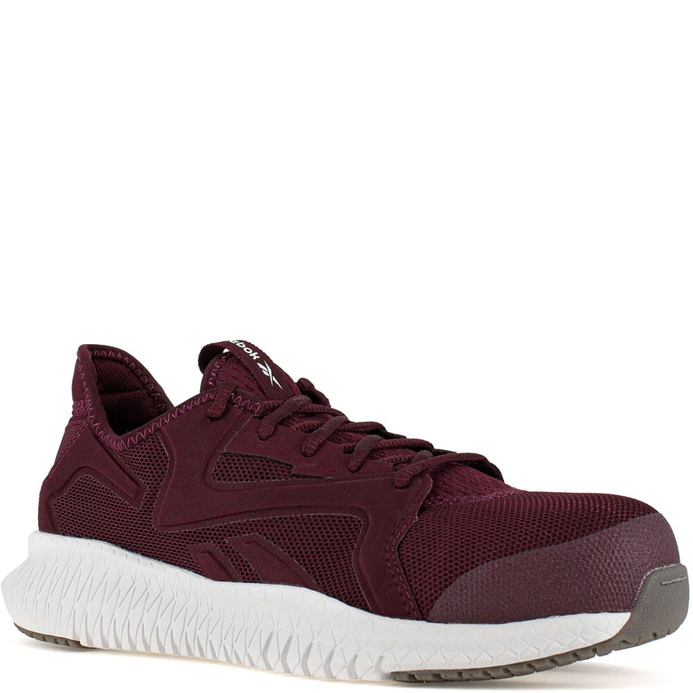 Image for Reebok Men's Flexagon 3.0 Safety Shoes - Burgundy from elliottsboots