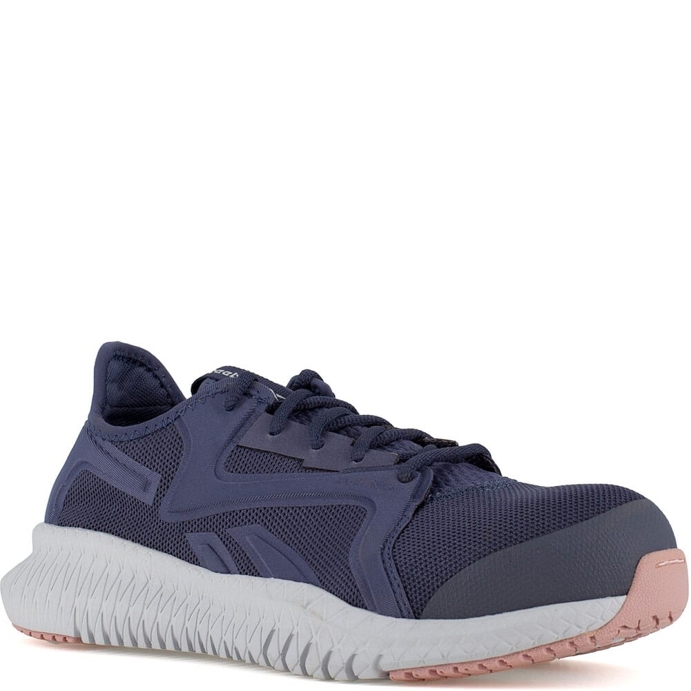 Image for Reebok Women's Flexagon 3.0 Safety Shoes - Navy/Pink from bootbay