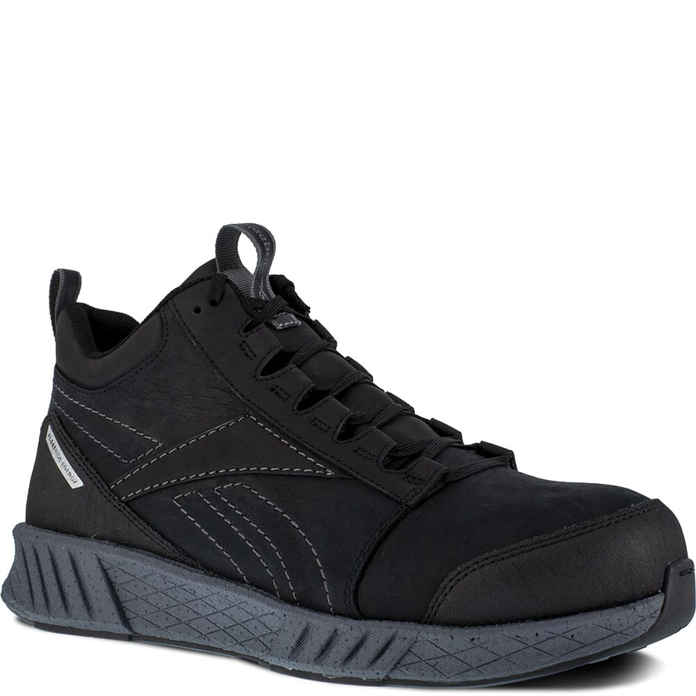 Image for Reebok Men's Fusion Formidable SD Safety Shoes - Black from bootbay