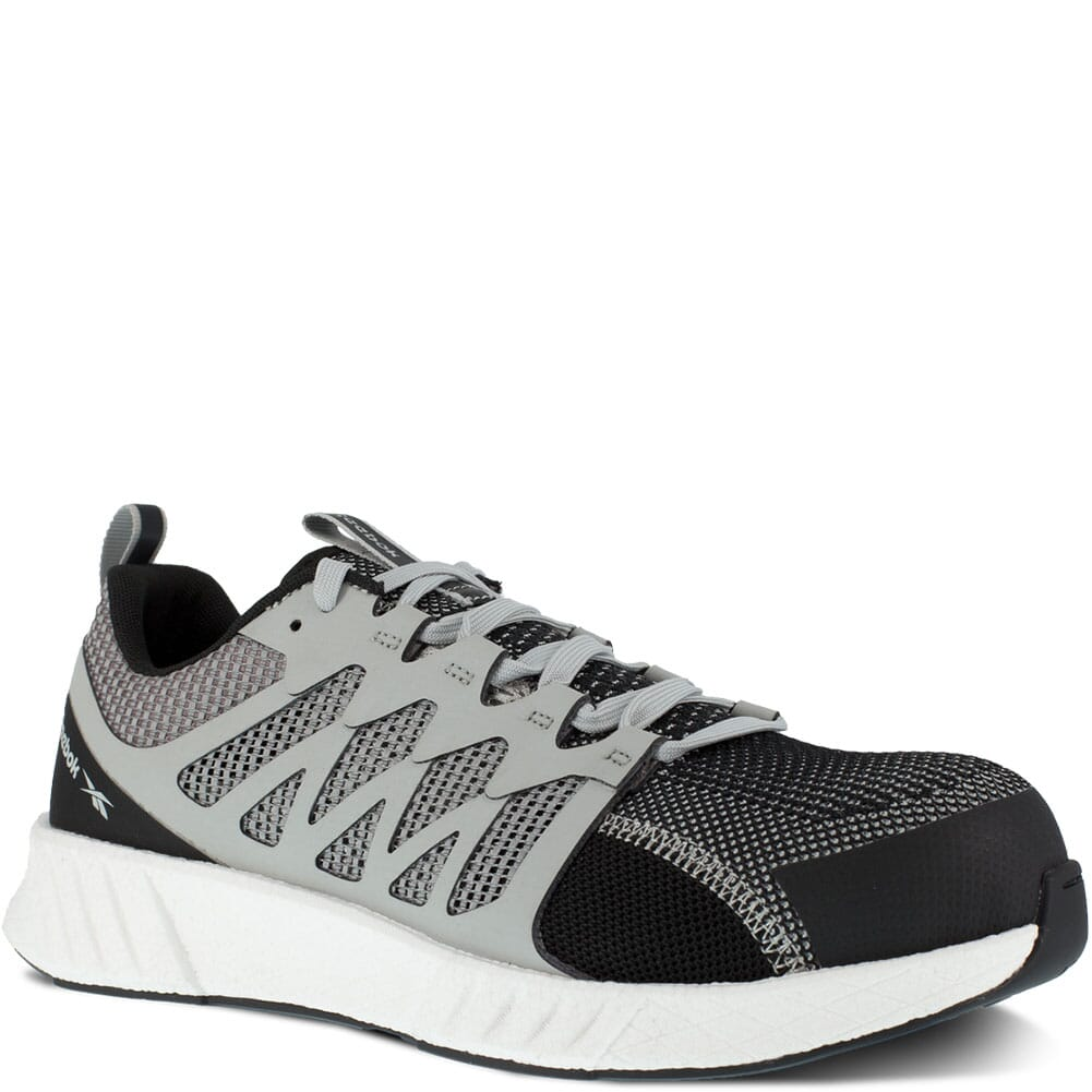 Image for Reebok Men's Fusion Flexweave Safety Shoes - Grey/White from bootbay