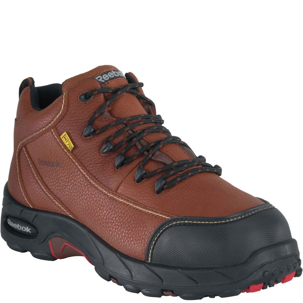 Image for Reebok Men's Internal MetGuard Safety Boots - Brown from bootbay