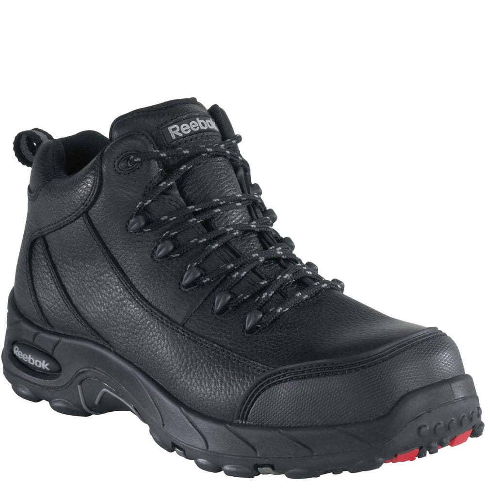 Image for Reebok Men's Waterproof EH Safety Boots - Black from bootbay