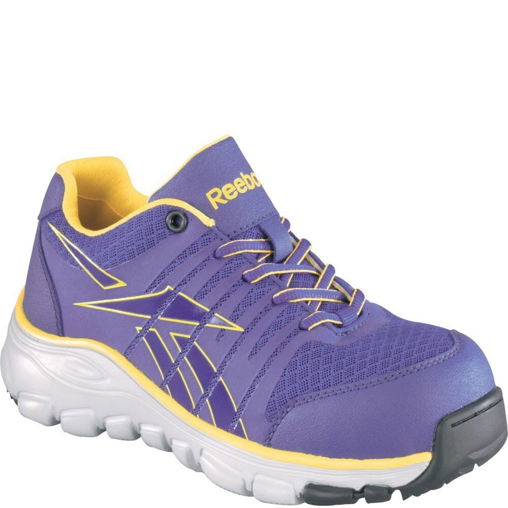 Image for Reebok Women's Seamless Safety Shoes - Purple from elliottsboots