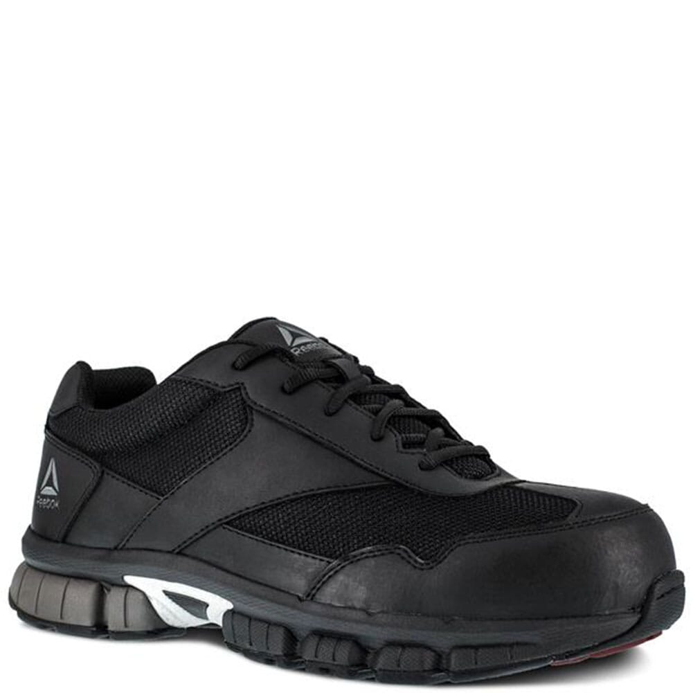 Image for Reebok Women's Cross Trainer Safety Shoes - Black/Silver from elliottsboots