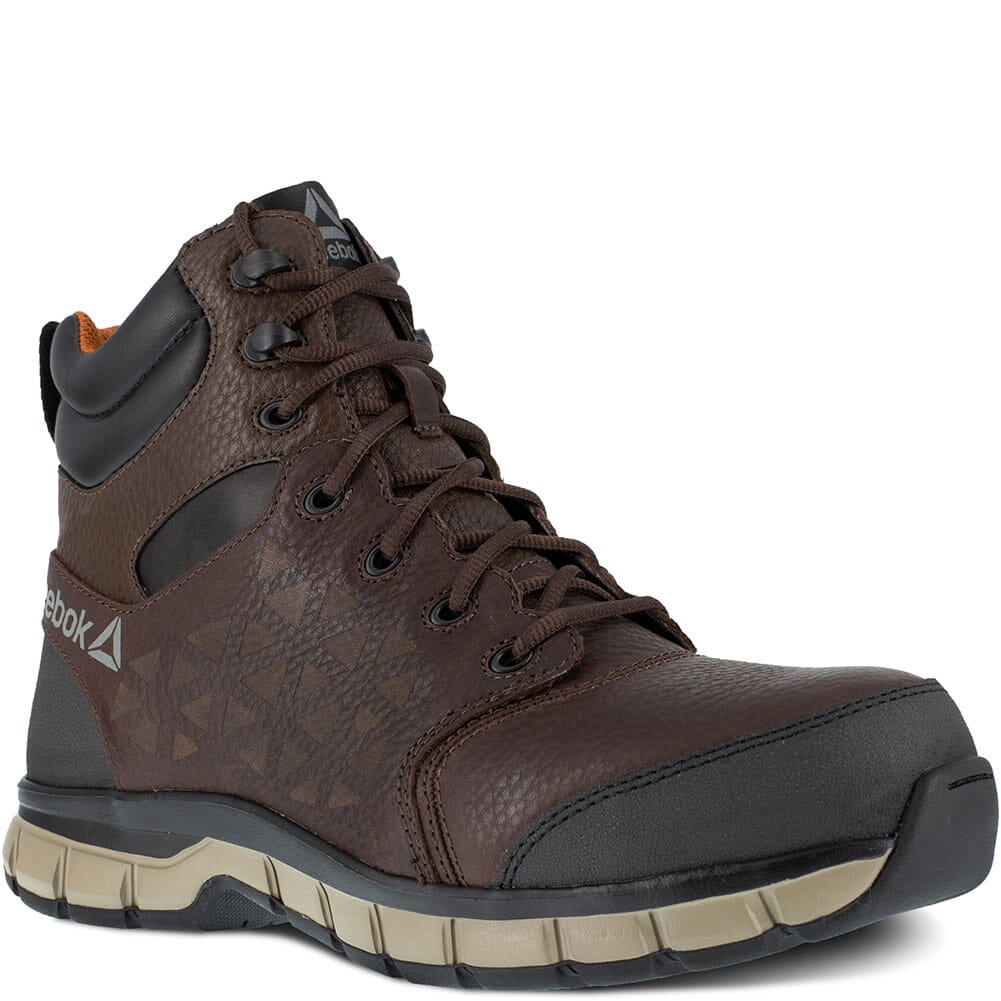 Image for Reebok Men's Sublite EH Safety Boots - Brown from bootbay