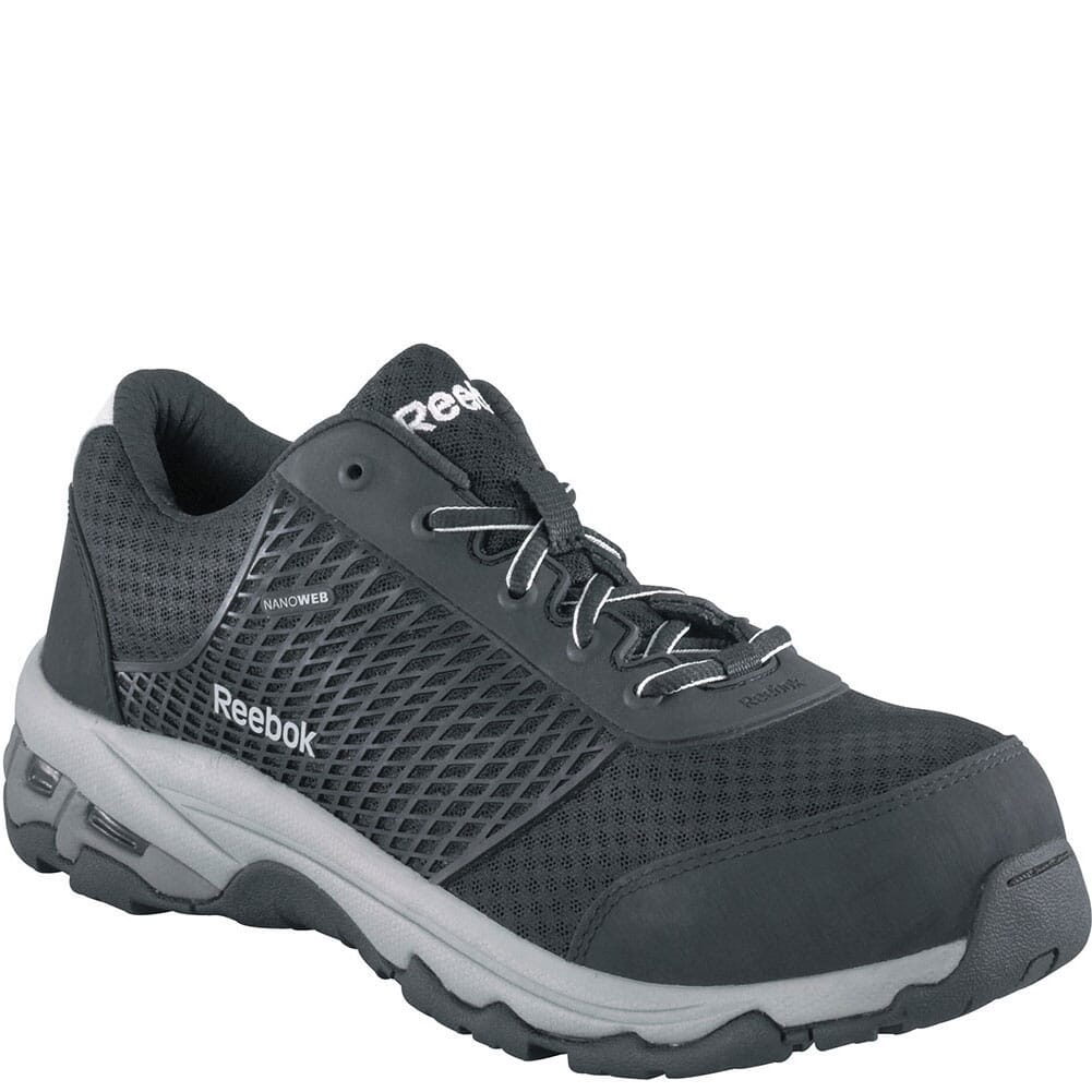 Image for Reebok Men's Heckler Safety Shoes - Grey from bootbay