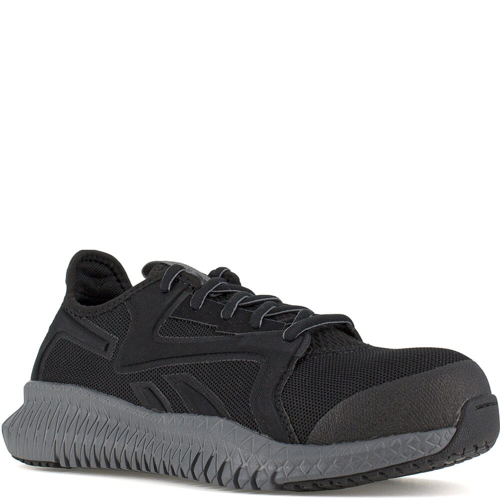 Image for Reebok Women's Flexagon 3.0 Safety Shoes - Black/Grey from elliottsboots