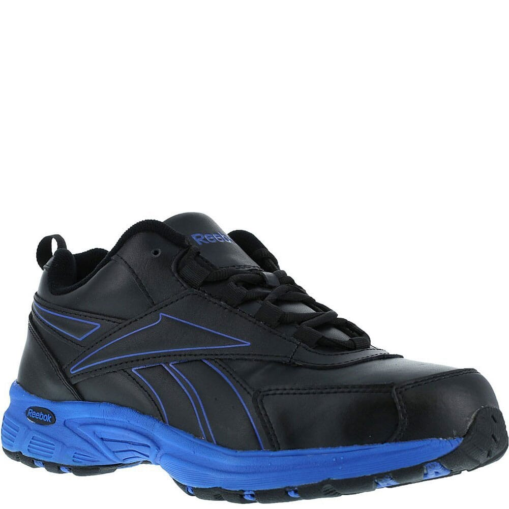 Image for Reebok Men's Cross Trainer Safety Shoes - Black/Blue from bootbay
