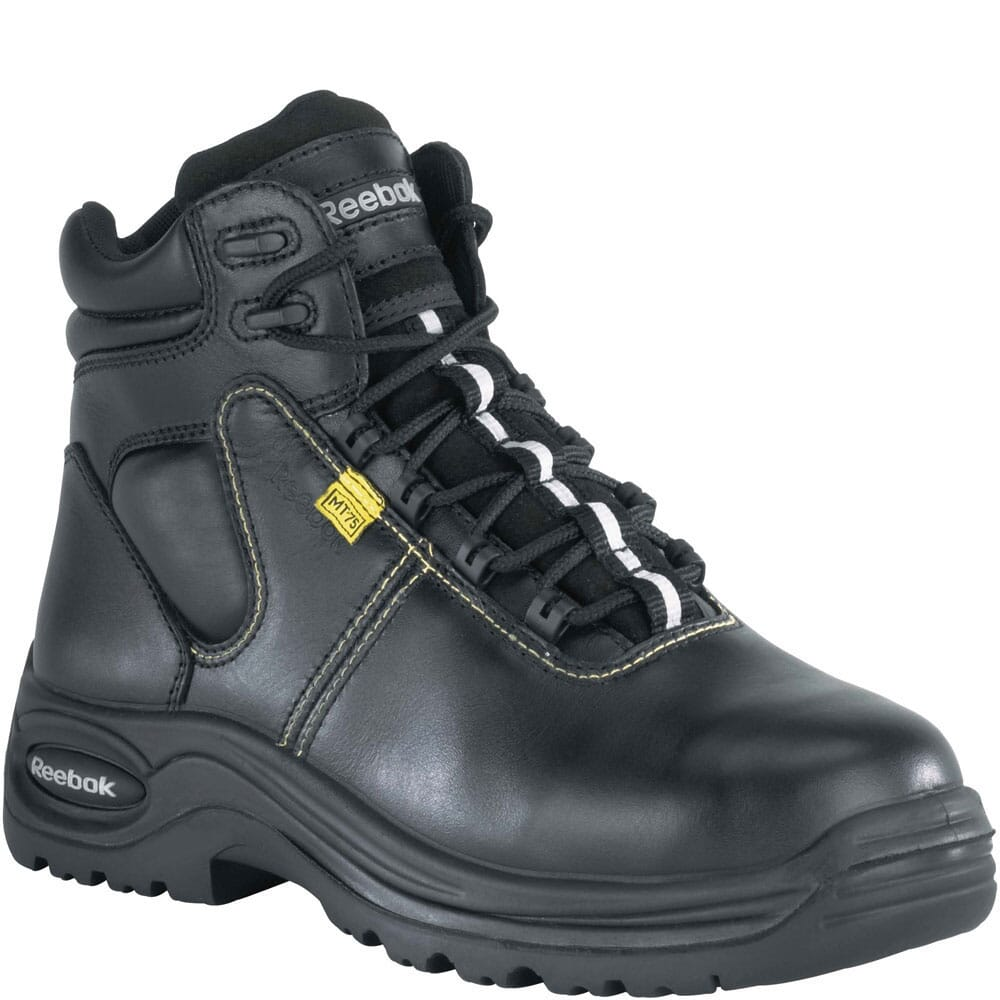Image for Reebok Women's Internal Met Safety Boots - Black from bootbay