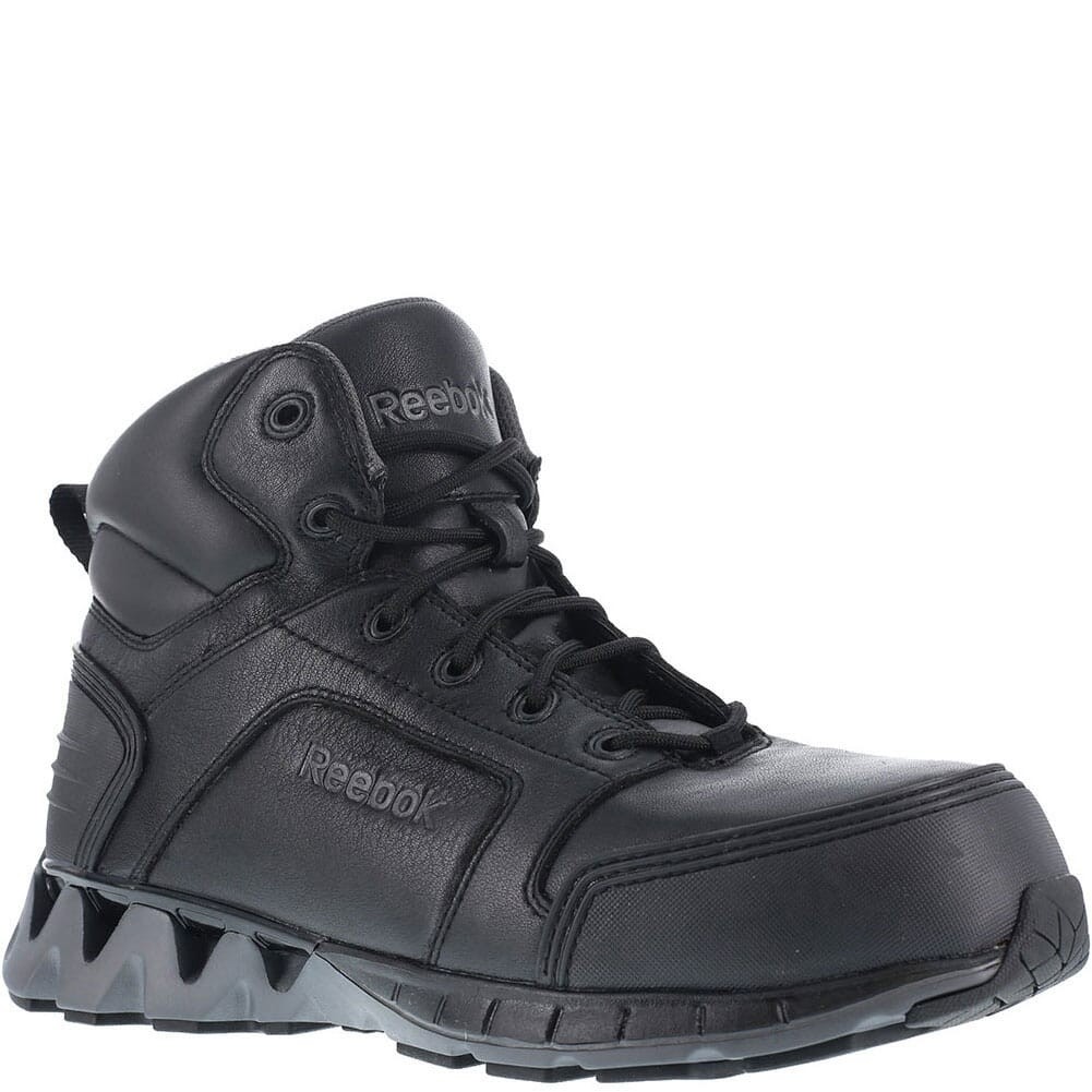 Image for Reebok Men's Zig Safety Boots - Black from bootbay