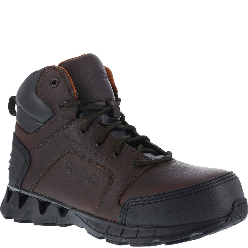 Image for Reebok Men's ZigTech Safety Boots - Brown from bootbay
