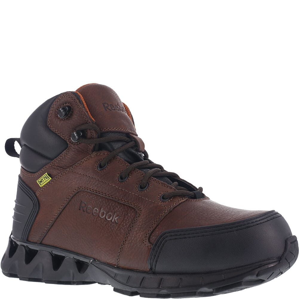 Image for Reebok Men's ZigKick Safety Boots - Brown from bootbay