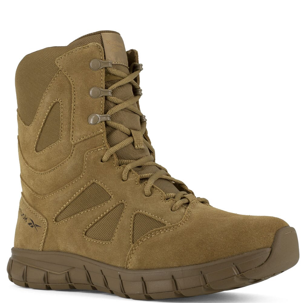 Image for Reebok Women's Sublite Cushion EH Tactical Boots - Coyote from elliottsboots