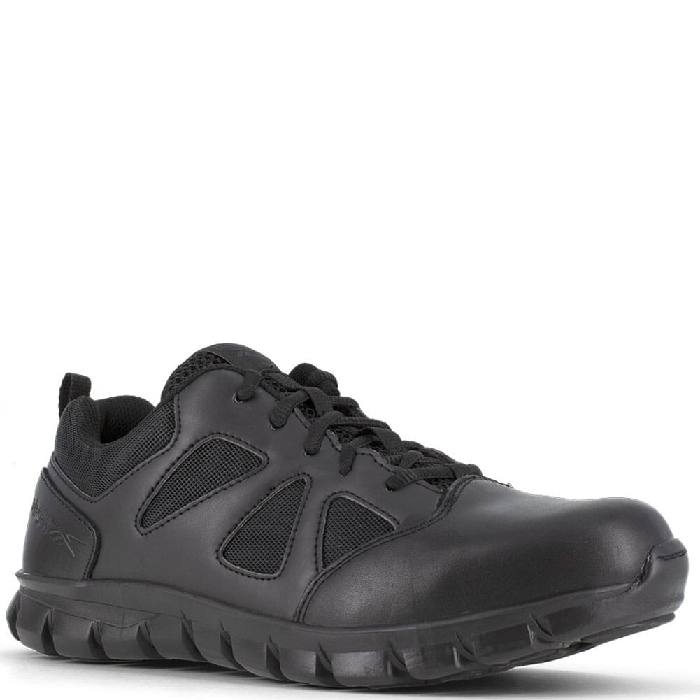 Image for Reebok Women's Sublite Cushion EH SR Tactical Shoes - Black from bootbay