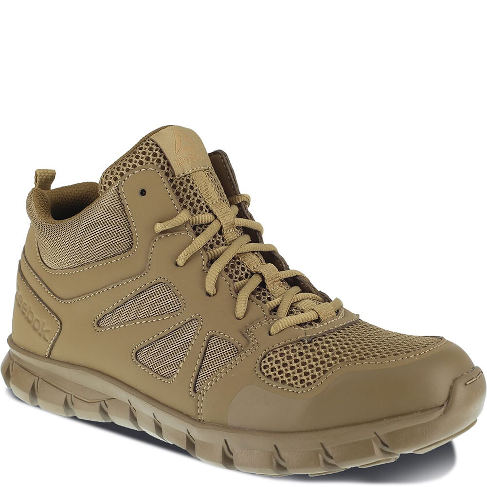Image for Reebok Men's Sublite Cushion Tactical Shoes - Coyote from bootbay