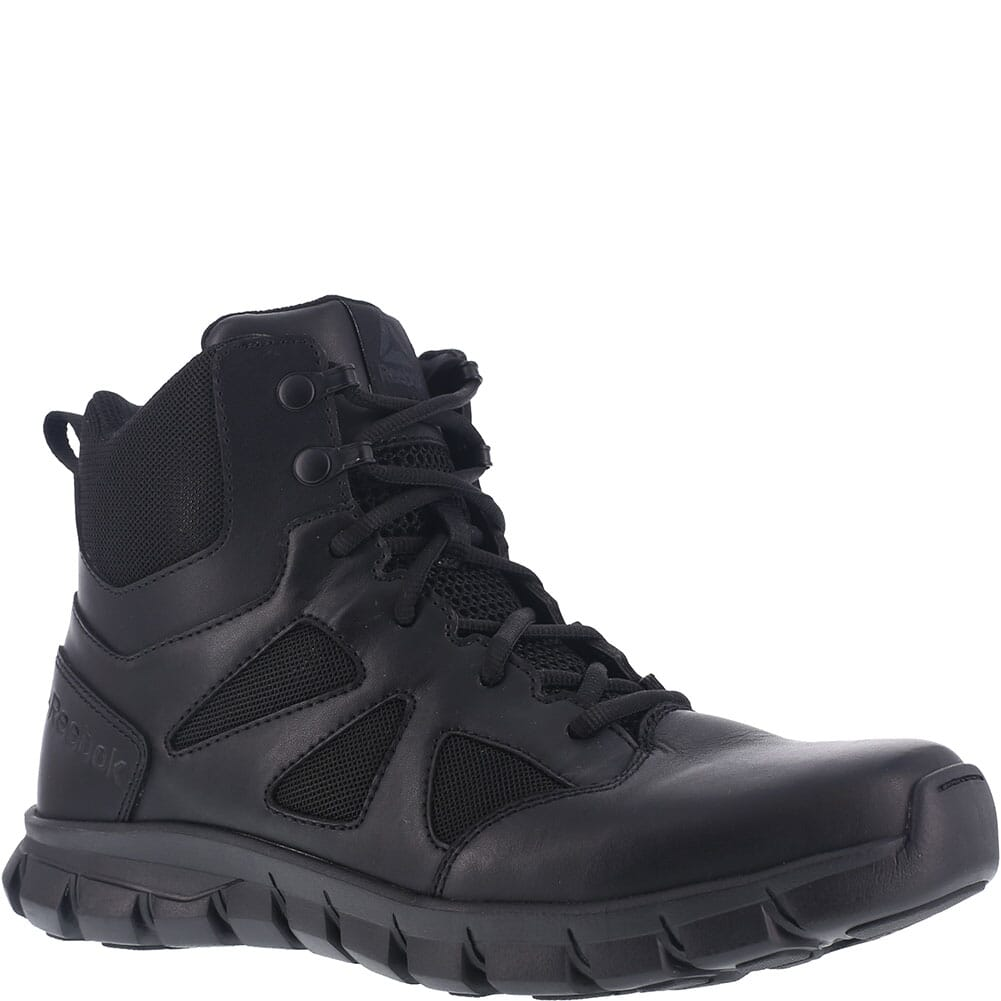 Image for Reebok Men's Sublite Cushion Tactical Shoes - Black from bootbay