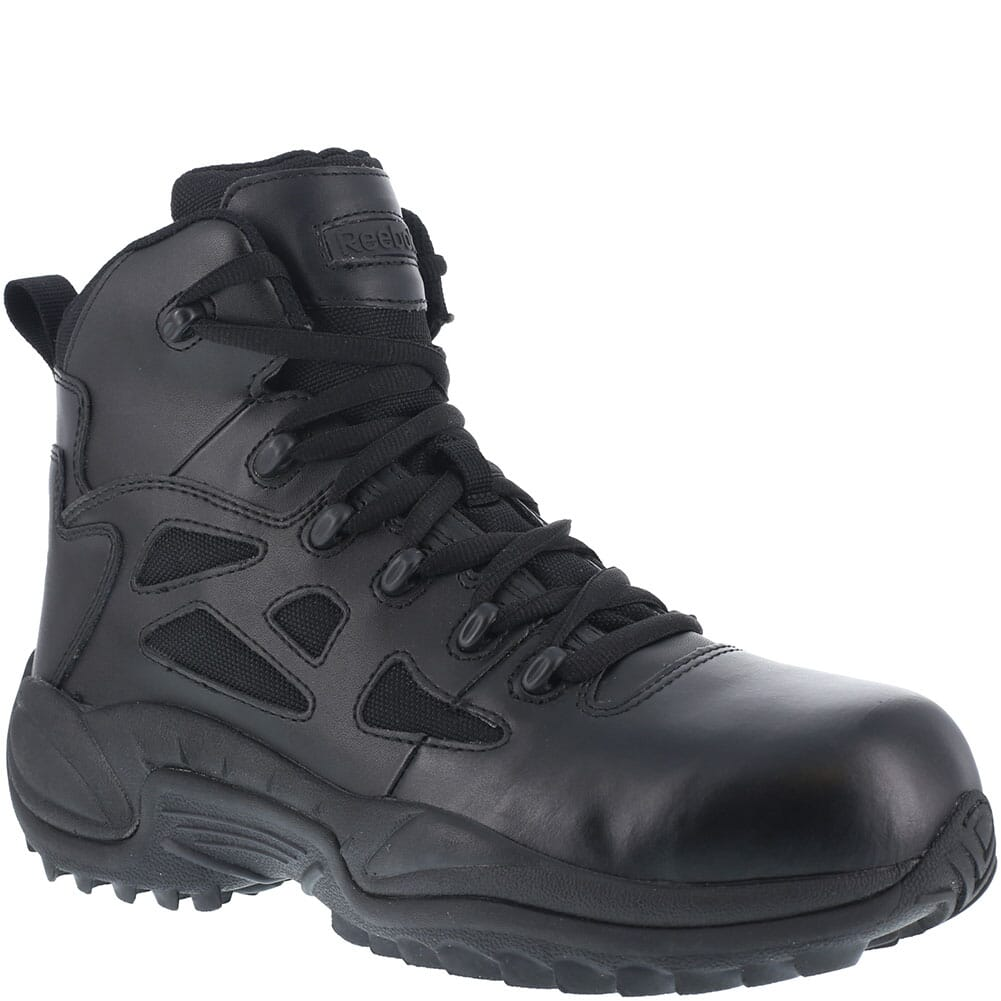 Image for Reebok Men's Stealth Zipper Safety Boots - Black from bootbay
