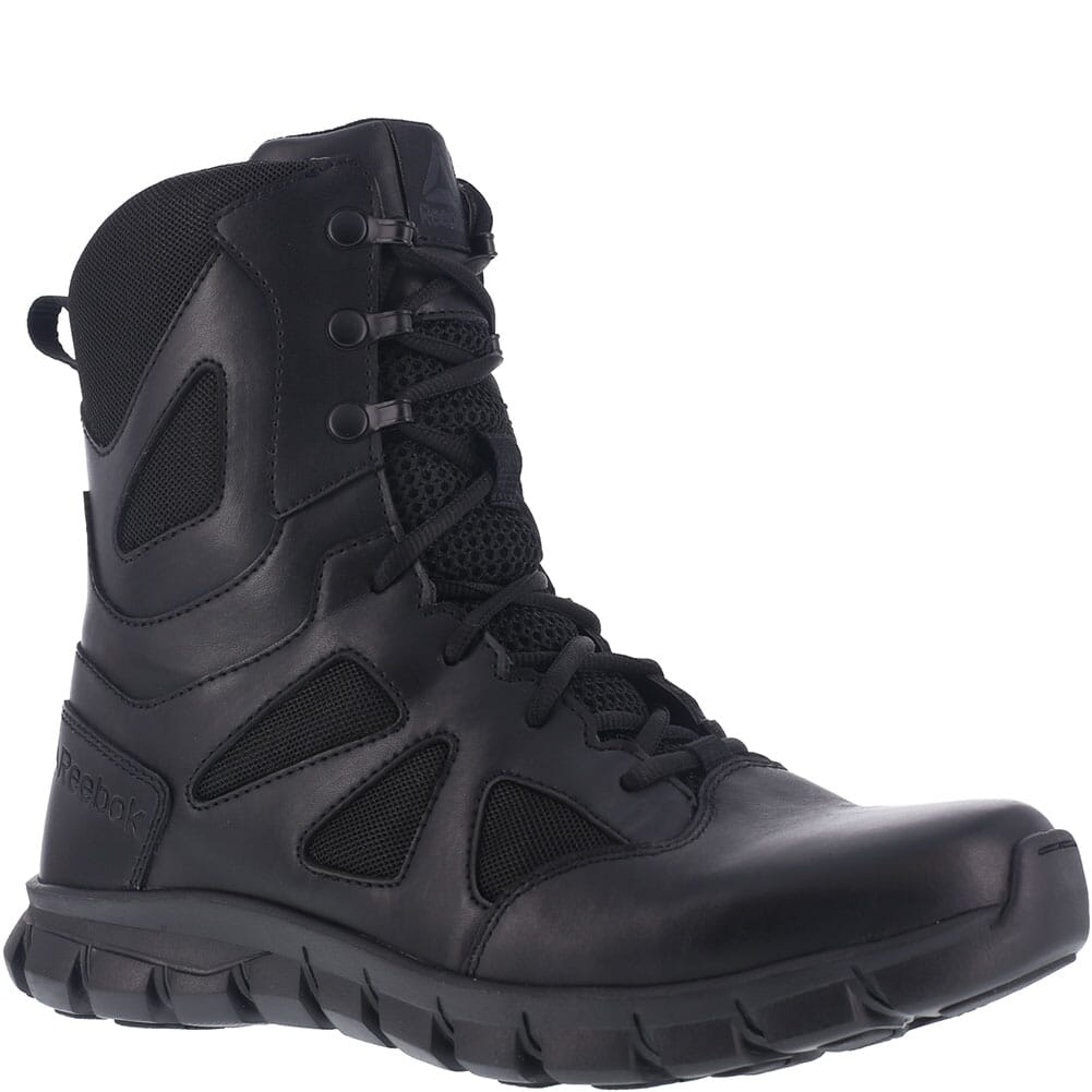 Image for Reebok Men's Sublite Cushion 8IN Tactical Boots - Black from bootbay