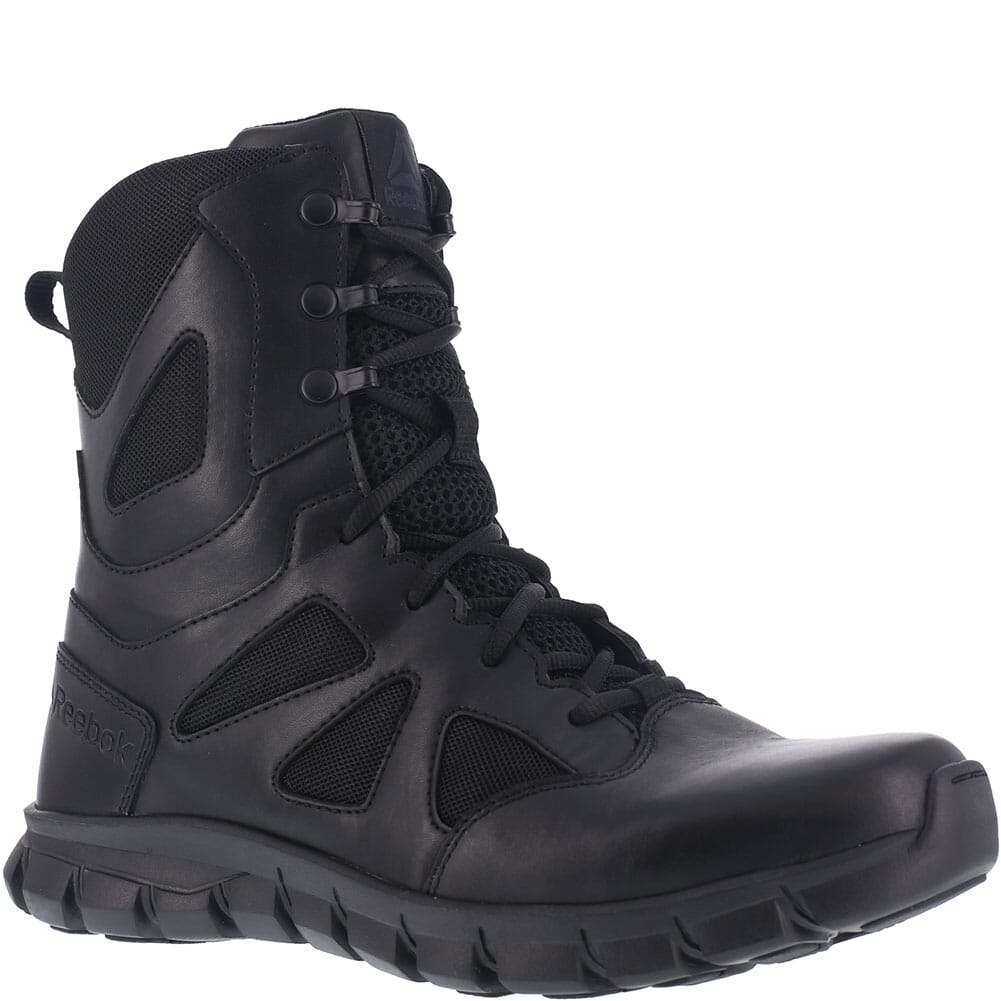 Image for Reebok Men's Sublite Cushion WP Tactical Boots - Black from bootbay