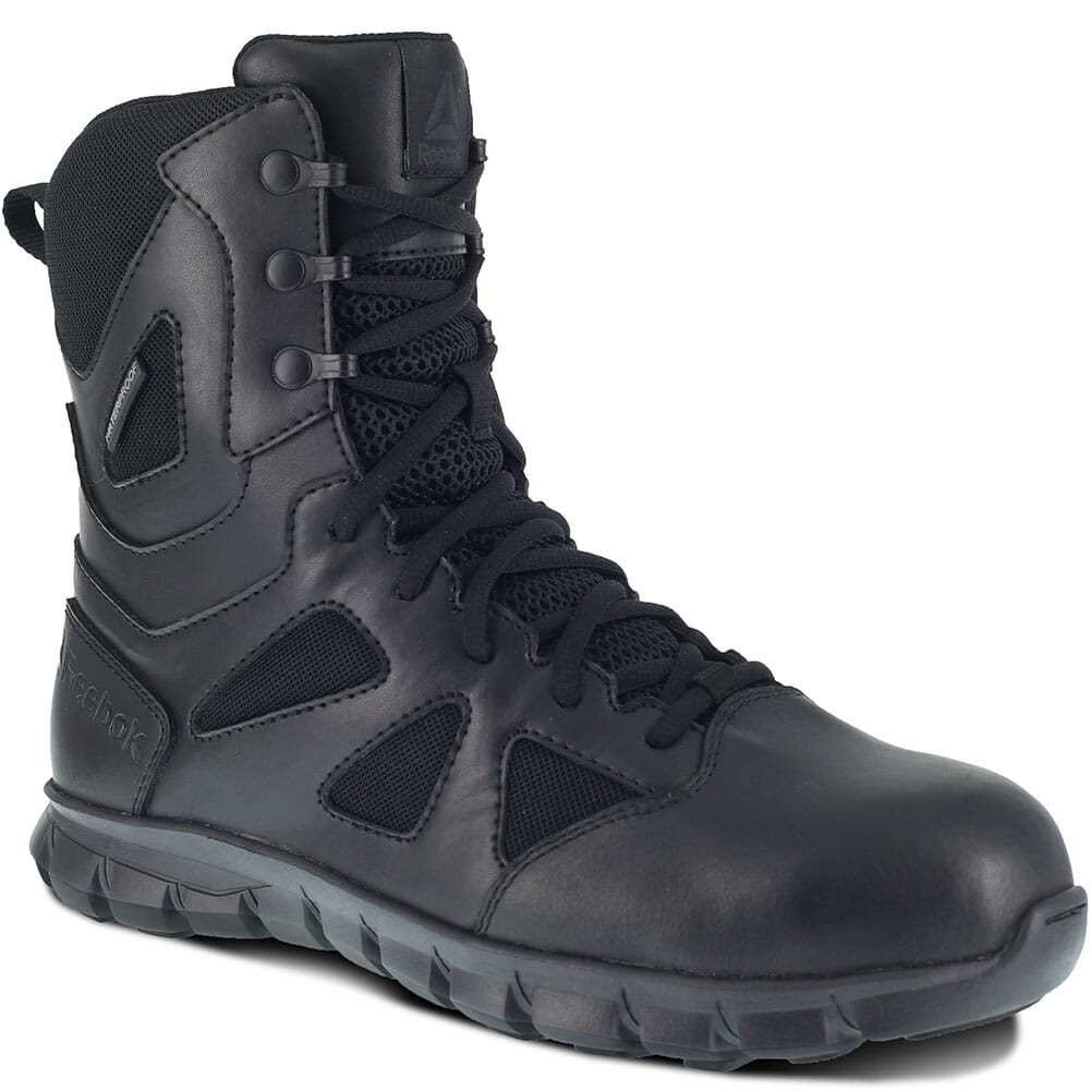 Image for Reebok Men's Sublite Cushion Safety Boots - Black from bootbay